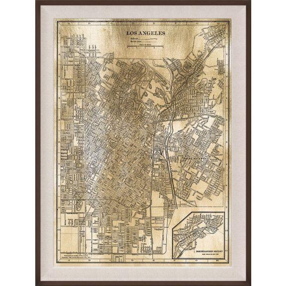 LA Map, Gold