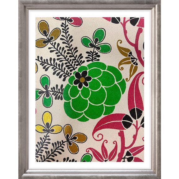 Modern Deco Flowers 6
