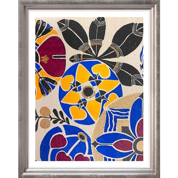 Modern Deco Flowers 8