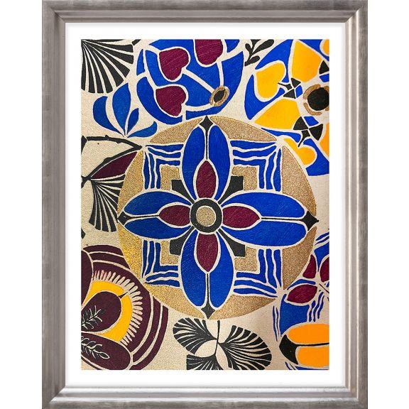 Modern Deco Flowers 9