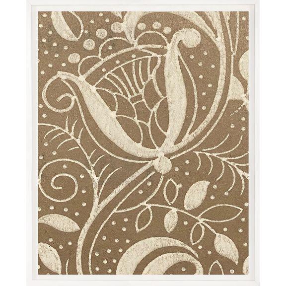 Modern Textile Floral Series 2 No. 1