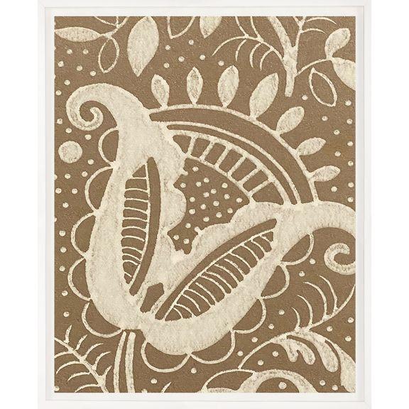 Modern Textile Floral Series 2 No. 2