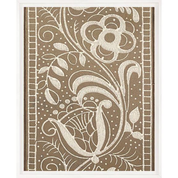 Modern Textile Floral Series 2 No. 3