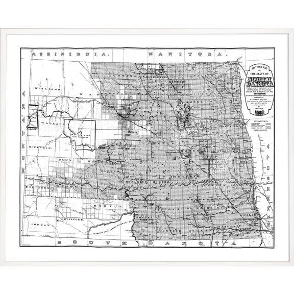 An American Journey, Large: North Dakota 1