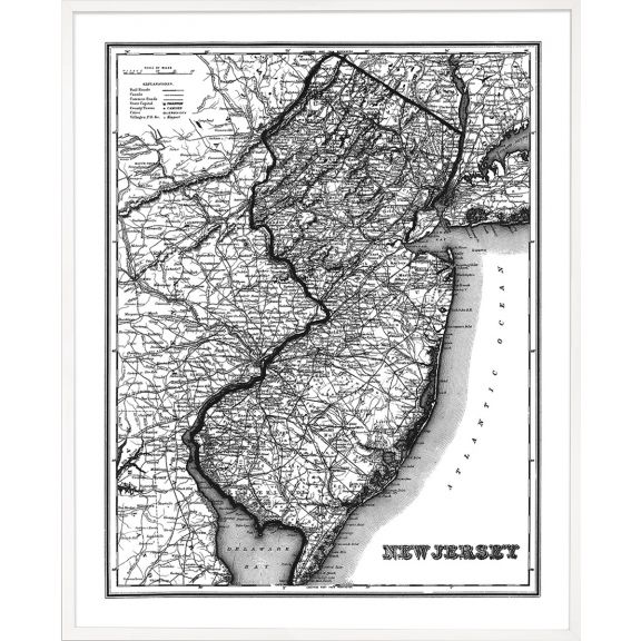An American Journey, Large: New Jersey 1