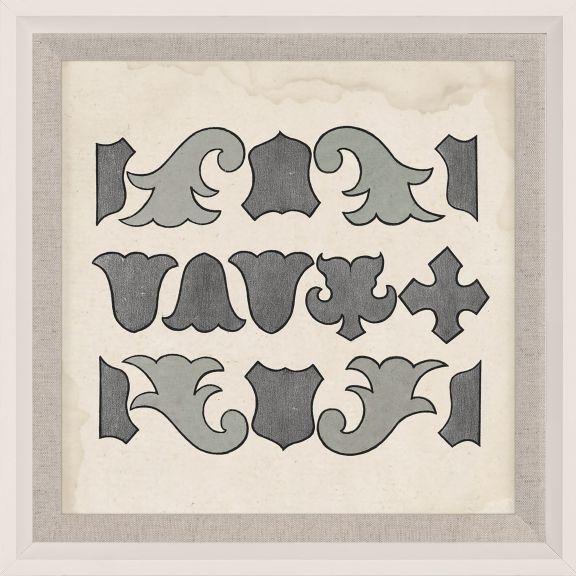 Parterre Maze Grey 10