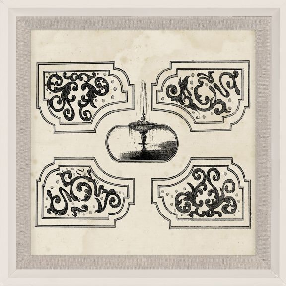 Parterre Maze Grey 3