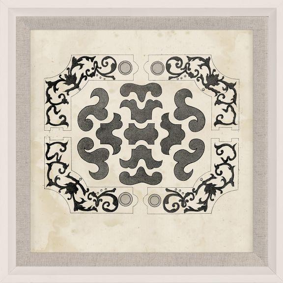 Parterre Maze Grey 7