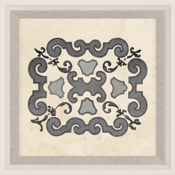 Parterre Maze Grey 9