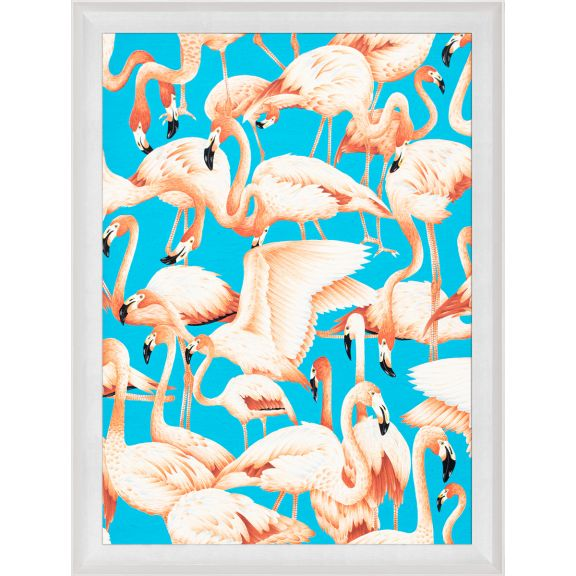 Modern Paradise, Flamingos