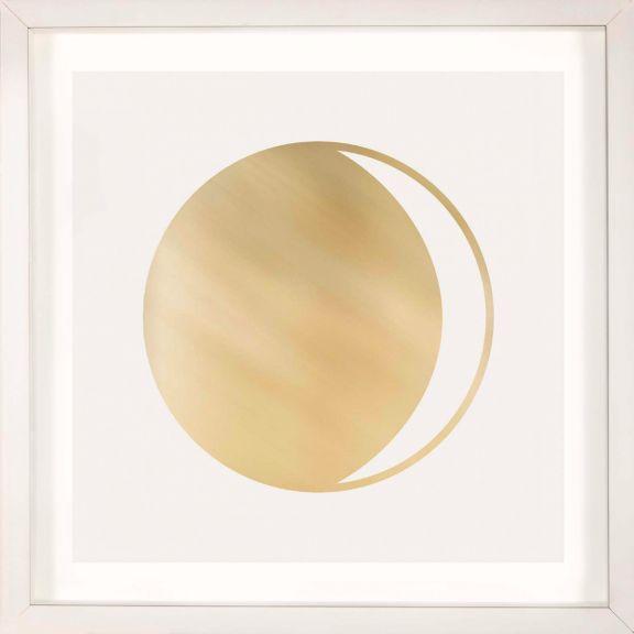 Gold Solar Eclipse No. 1