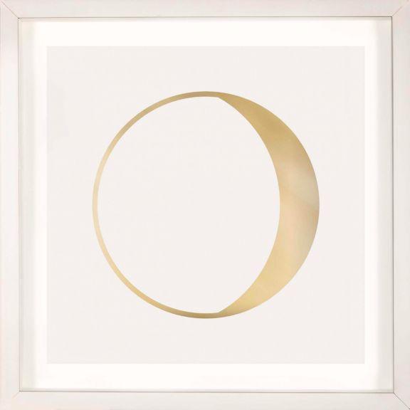 Gold Solar Eclipse No. 10
