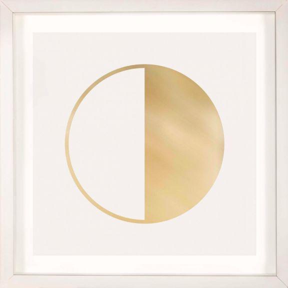Gold Solar Eclipse No. 12