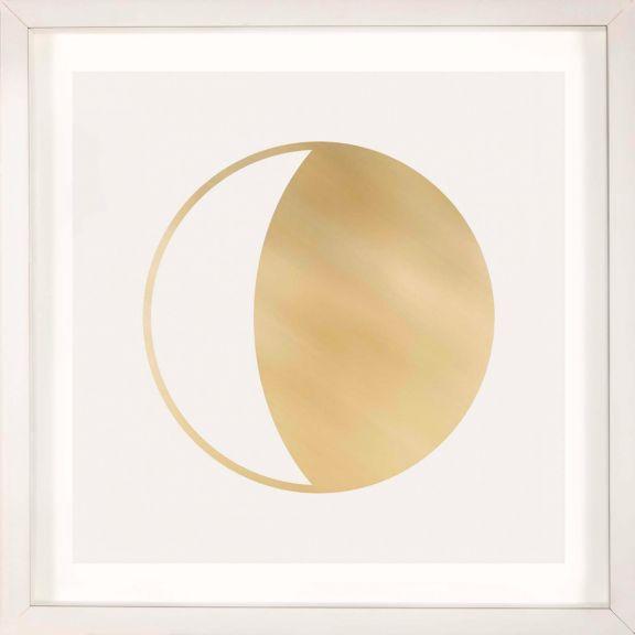 Gold Solar Eclipse No. 13
