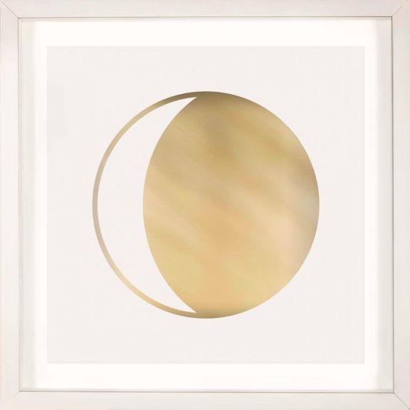 Gold Solar Eclipse No. 14