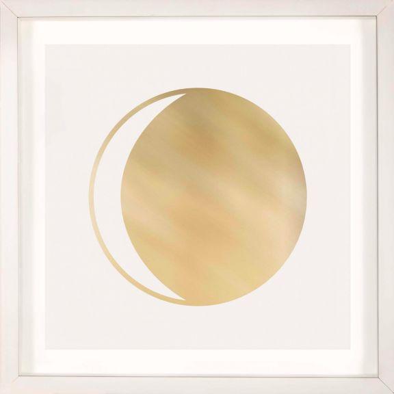 Gold Solar Eclipse No. 15