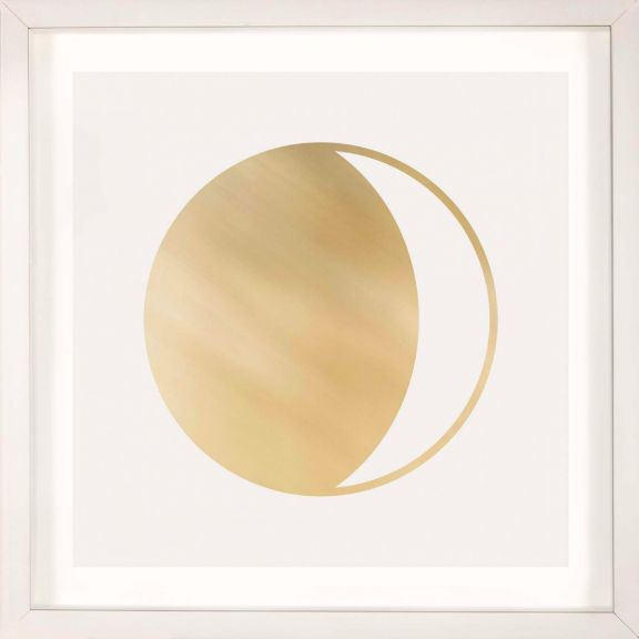 Gold Solar Eclipse No. 2