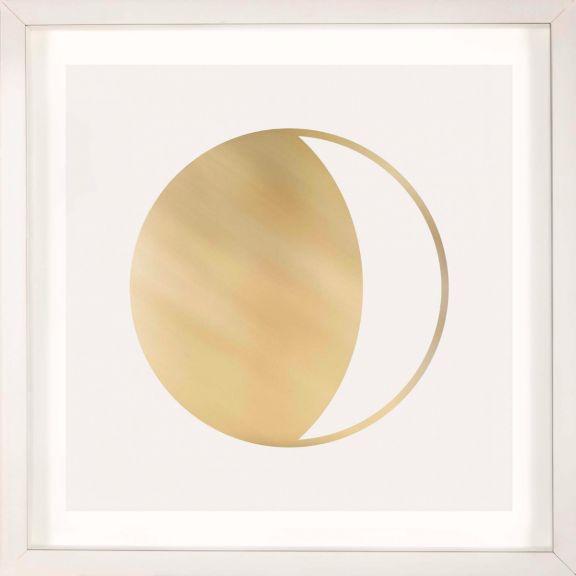Gold Solar Eclipse No. 3
