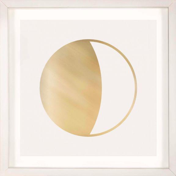 Gold Solar Eclipse No. 4