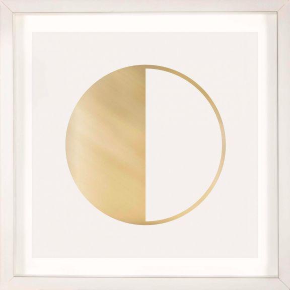 Gold Solar Eclipse No. 5