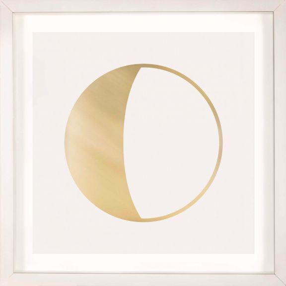 Gold Solar Eclipse No. 6