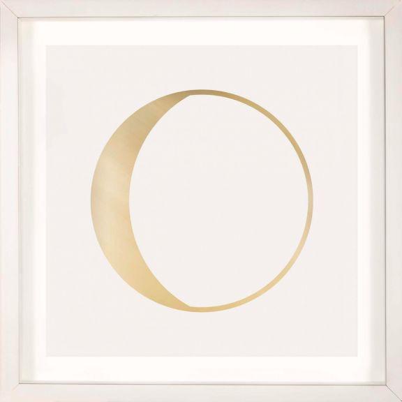 Gold Solar Eclipse No. 7