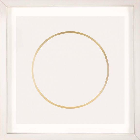 Gold Solar Eclipse No. 8