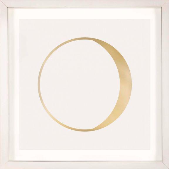 Gold Solar Eclipse No. 9