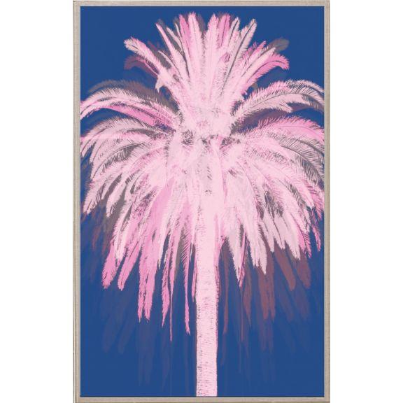 Pink Blue Palms