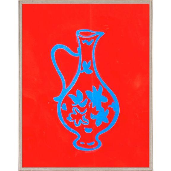 Paule Marrot, Blue Vase 1