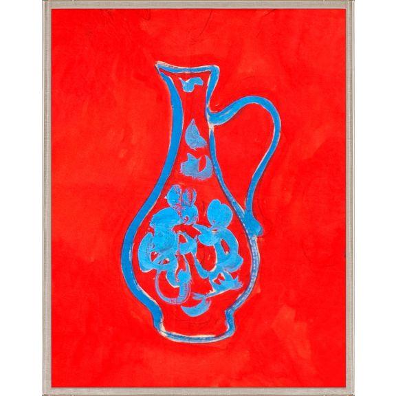 Paule Marrot, Blue Vase 2