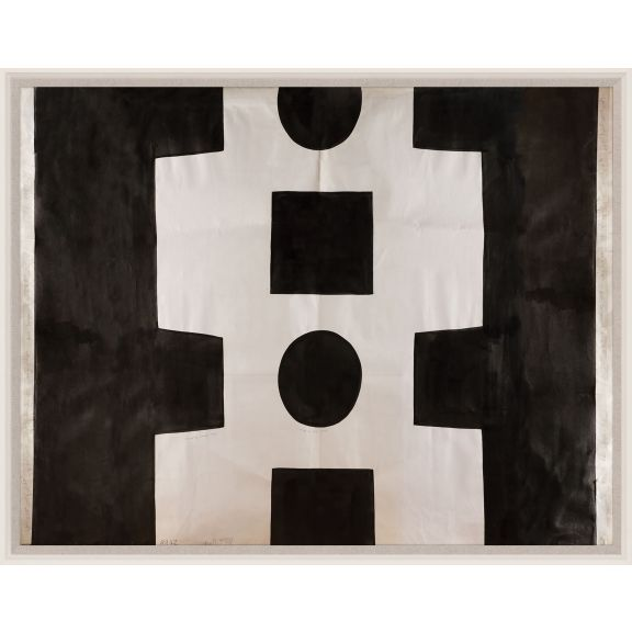 Paule Marrot, Black & White Abstract