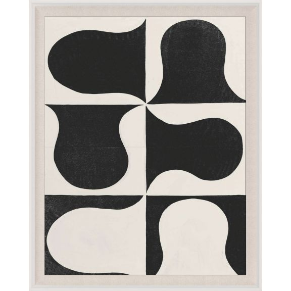 Paule Marrot, Black & White Abstract Series 2, 2