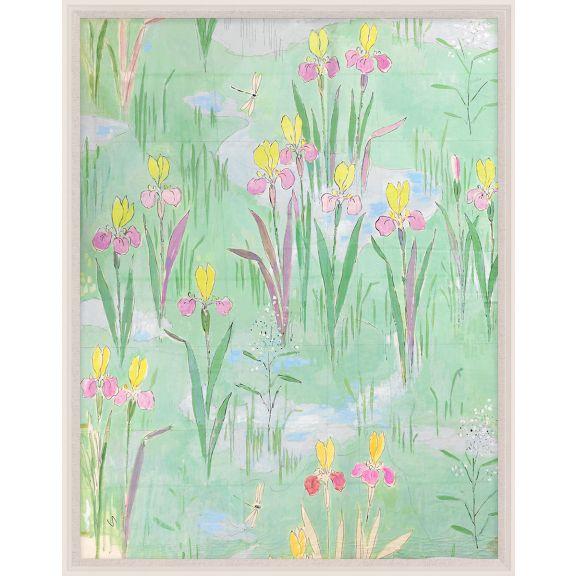 Paule Marrot, Fleurs Vertes 1
