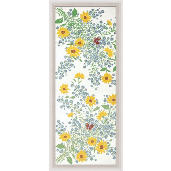 Paule Marrot, Fleurs Vertes Jaunes 1