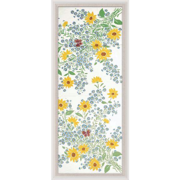 Paule Marrot, Fleurs Vertes Jaunes 2