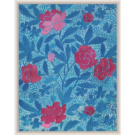 Paule Marrot, Floral Blue
