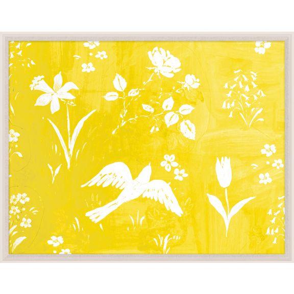 Paule Marrot, Flower Garden Jaune
