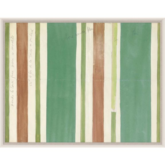 Paule Marrot, Green Brown Stripes