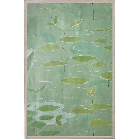 Paule Marrot Lilies 1, Diptych