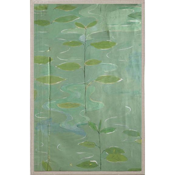Paule Marrot Lilies 2, Diptych