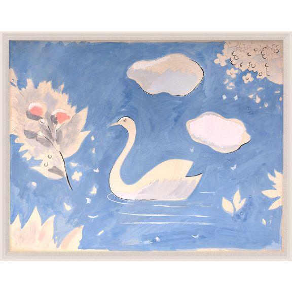 Paule Marrot, Swan In Lake