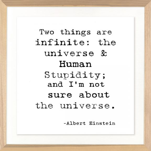 Famous Quotes: Albert Einstein