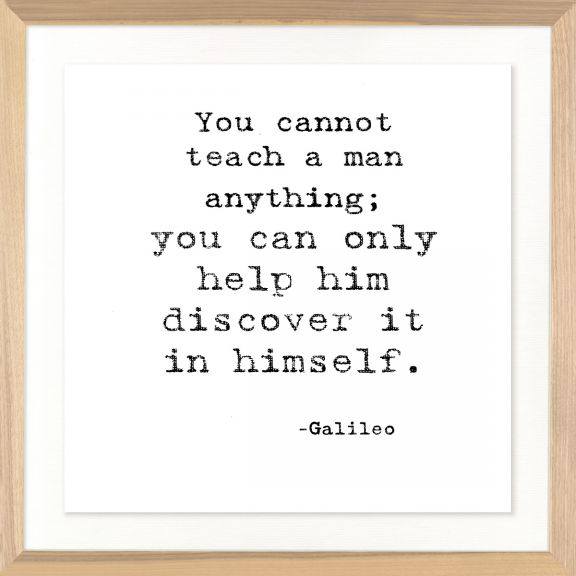 Famous Quotes: Galileo