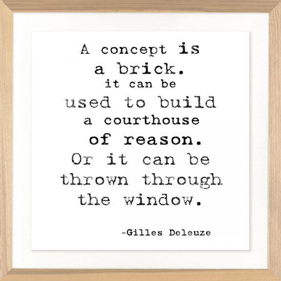Famous Quotes: Gilles Deleuze
