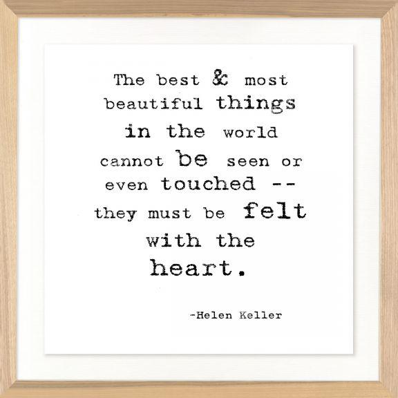 Famous Quotes: Helen Keller