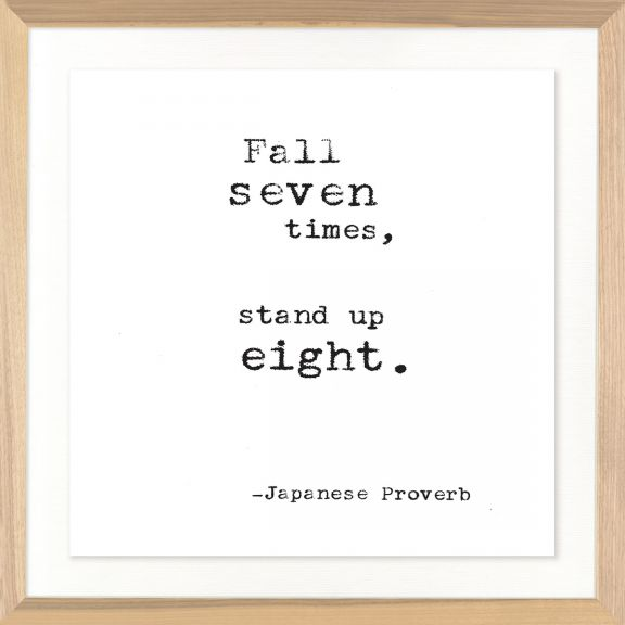 Famous Quotes: Japanese Proverb