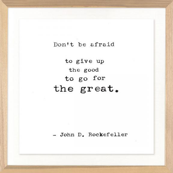Famous Quotes: John D. Rockefeller