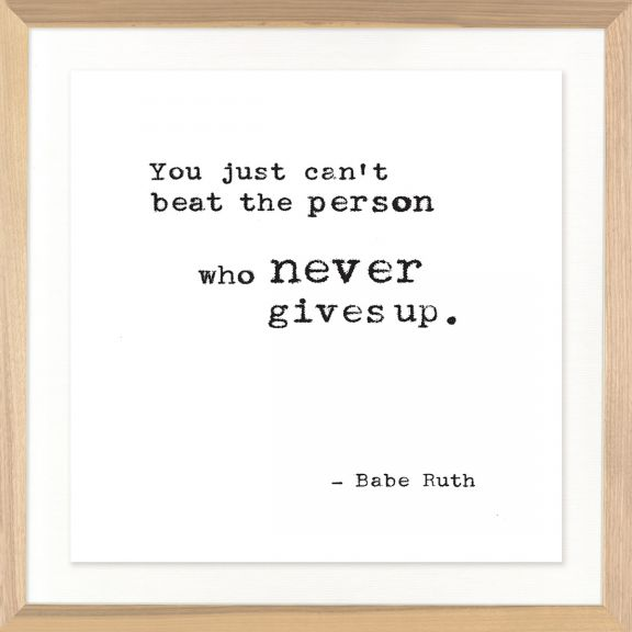 Famous Quotes: Babe Ruth No. 2