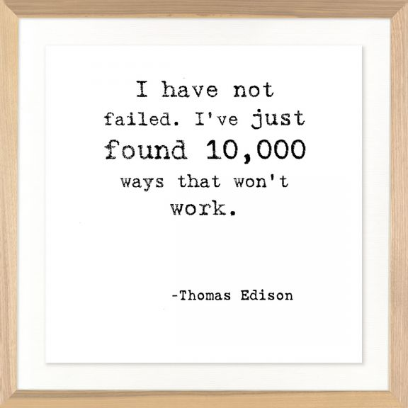 Famous Quotes: Thomas Edison